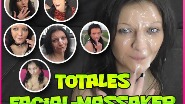 Video: Totales Facial-Massaker – 20 Hardcore Spermaduschen – 14:07 Minuten